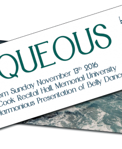 AQUEOUS – Tickets Selling Quickly!