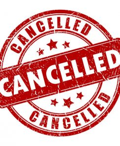 Some March Series Cancelled